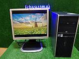 """ПК HP + мон 19"""", Intel E7500 2.93 Ггц, 4 ГБ, 160 ГБ Налаштований! Є Опт! Гарантія!, фото 8"""