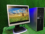 """ПК HP + мон 19"""", Intel E7500 2.93 Ггц, 4 ГБ, 160 ГБ Налаштований! Є Опт! Гарантія!, фото 9"""