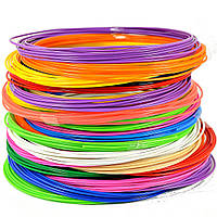 Набор пластика PLA для 3D ручек 120 метров
