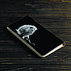 Портмоне v.2.0. Fisher Gifts 190 Белый лев в темноте (эко-кожа), фото 5