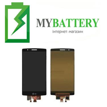 Дисплей (LCD) LG H950 G Flex 2 с сенсором серый оригинал