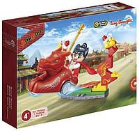 Конструктор BANBAO 6615 фігурка, тварина на колесах, 64 дет, кор., 19-14-4 см