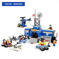 Конструктор TS8108A Арктика, станція, транспорт, фігурки 6 шт., 765 дет., кор., 57-37,5-8,5 див.