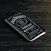 Портмоне v.2.0. Fisher Gifts 661 Jack Daniels (эко-кожа), фото 5