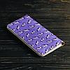 Портмоне v.2.0. Fisher Gifts 999 Фиолетовые единороги (эко-кожа), фото 5
