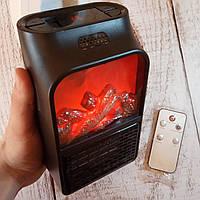 Портативный Обогреватель Flame Heater! Имитация камина, с LCD-дисплеем (Живые фото!)