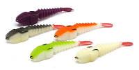 Набор поролоновых рыбок Levsha NN 3D Stream 7см V, W, WBL, WOR, WLGR