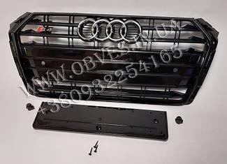 Решітка радіатора Audi A4 2015+ стиль Audi S4 Black Edition