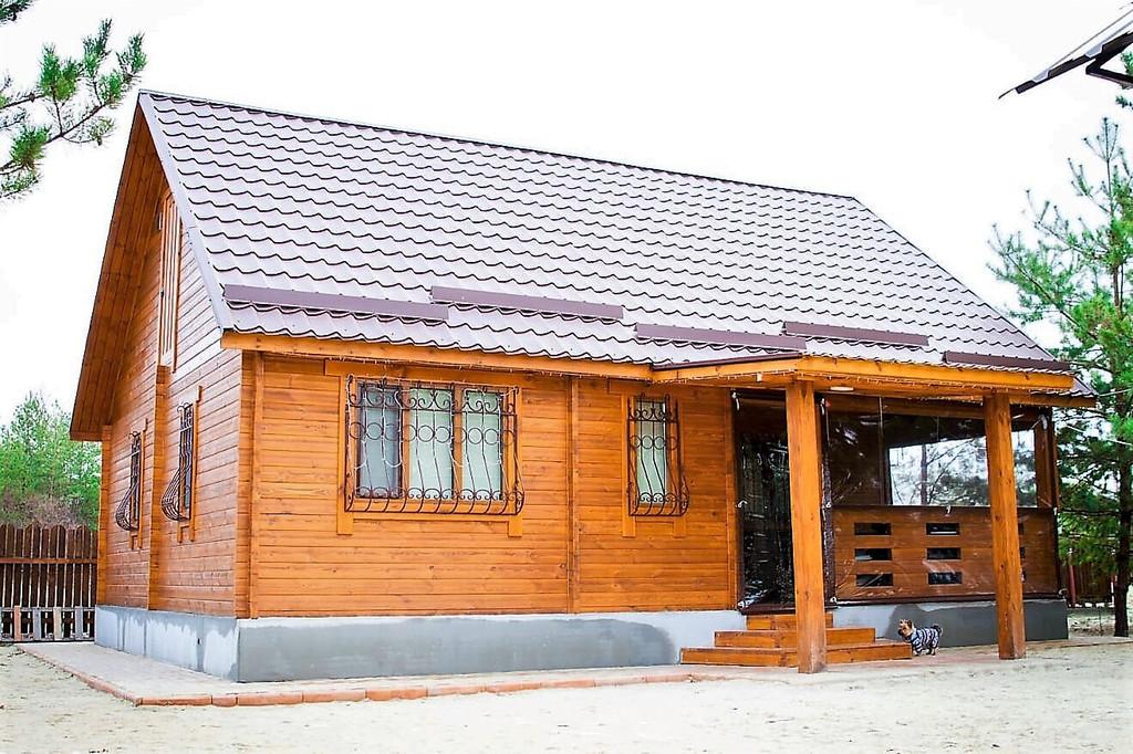 Деревянный дом из профилированного бруса в Краматорске