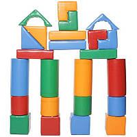 Модульный детский конструктор «Строитель - 3 Мини», фото 1