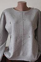 Кофта женская люрекс с кружочками, фото 1