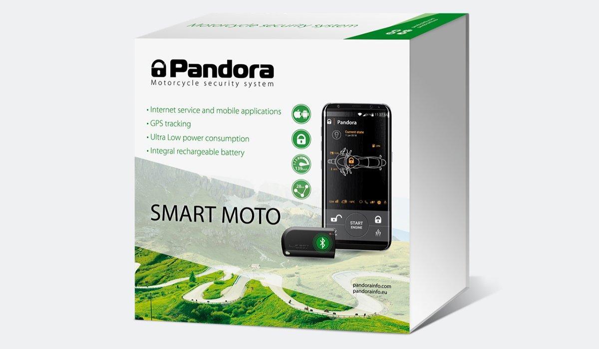 Мотосигнализация Pandora Smart Moto DX-47