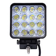 Светодиодные фары  LED рабочий свет-flood WL-107 48W EP16 FL SW