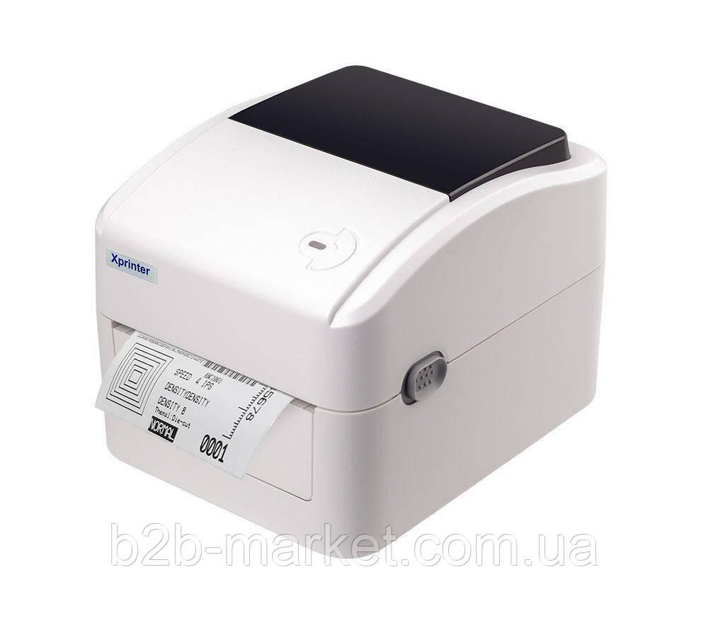 Принтер етикеток підходить для Нової пошти Xprinter XP-420B  USB