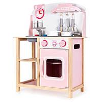 Кухня детская деревянная EcoToys с аксессуарами