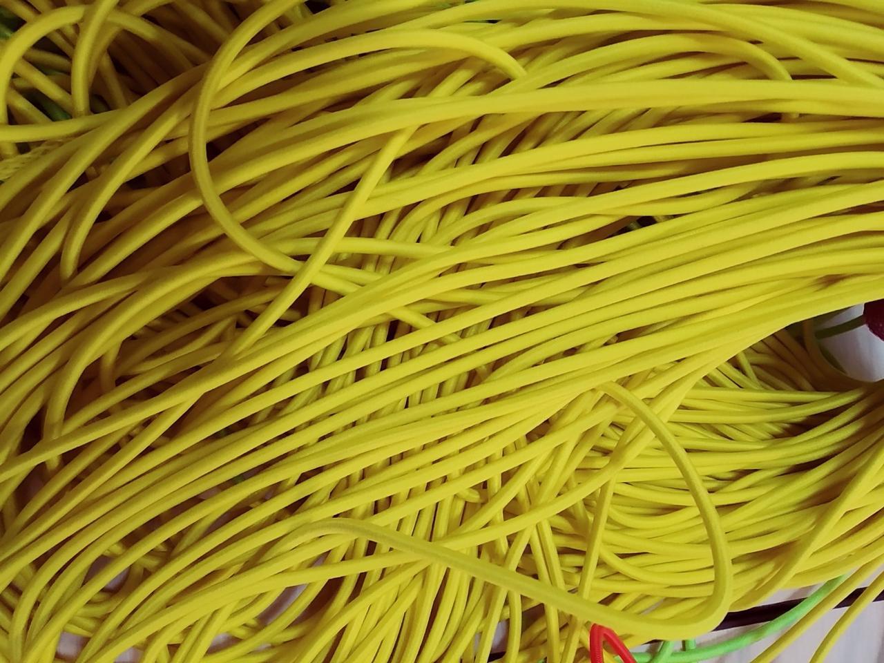 Резинка кругла декоративна, 0,4см Китай