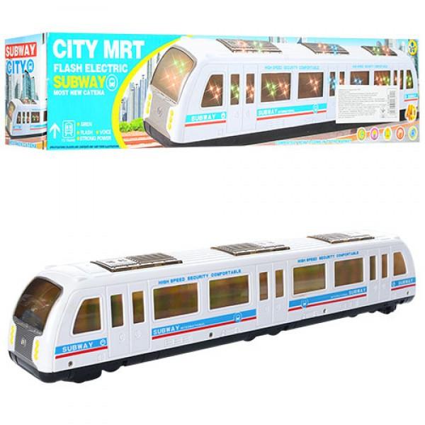 Поезд 42см, 3Dсвет, муз, звук