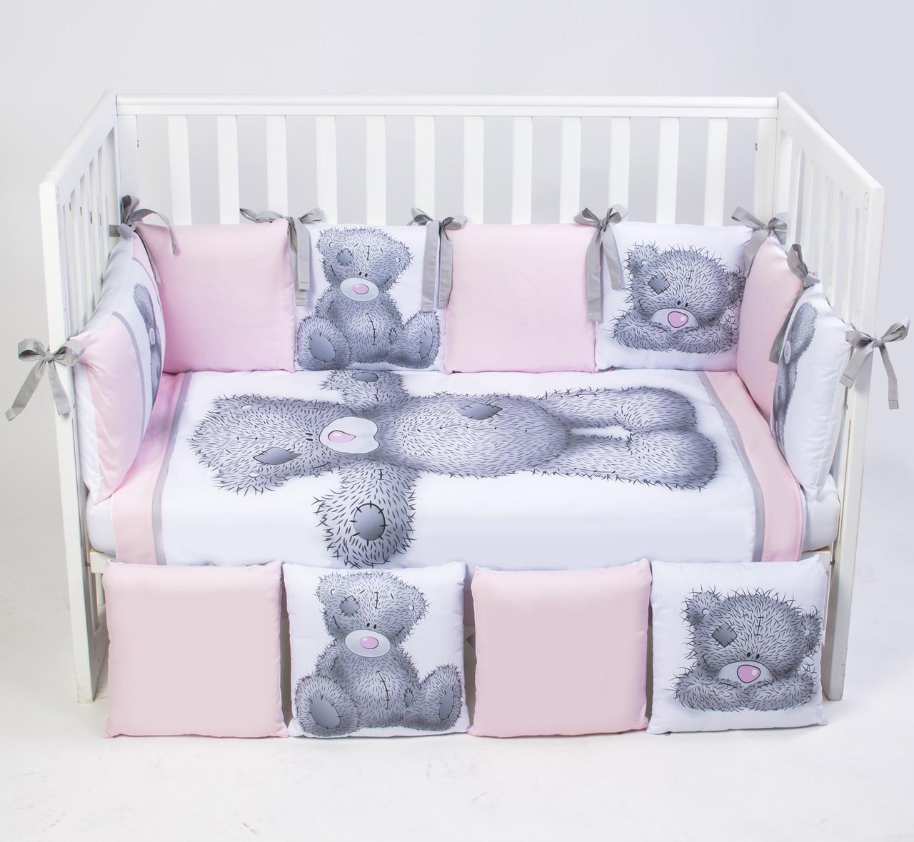 Постельный комплект для новорожденных Veres Teddy Girl