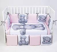Постельный комплект для новорожденных Veres Teddy Girl, фото 1