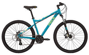 "Велосипед 27,5"" Pride STELLA 7.2 (2021) TORQ/LIME"