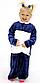 Дитяча махрова піжама на 5-6 років, фото 2