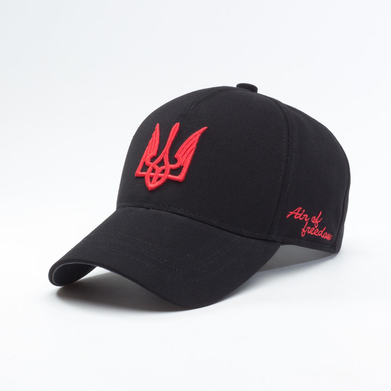 Купить Кепка бейсболка мужская INAL air of freedom XL / 59-60 RU Черный 35359