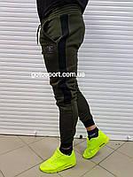 Теплые мужские спортивные штаны Haki Sport
