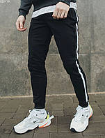 Молодежные спортивные штаны Staff black line EE0119
