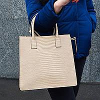 Женская итальянская кожаная сумка  - (903)