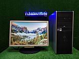 """Компьютер HP + монитор 19"""", Intel 4 ядра, 4 ГБ, 160 ГБ Настроен! Есть Опт! Гарантия!, фото 8"""