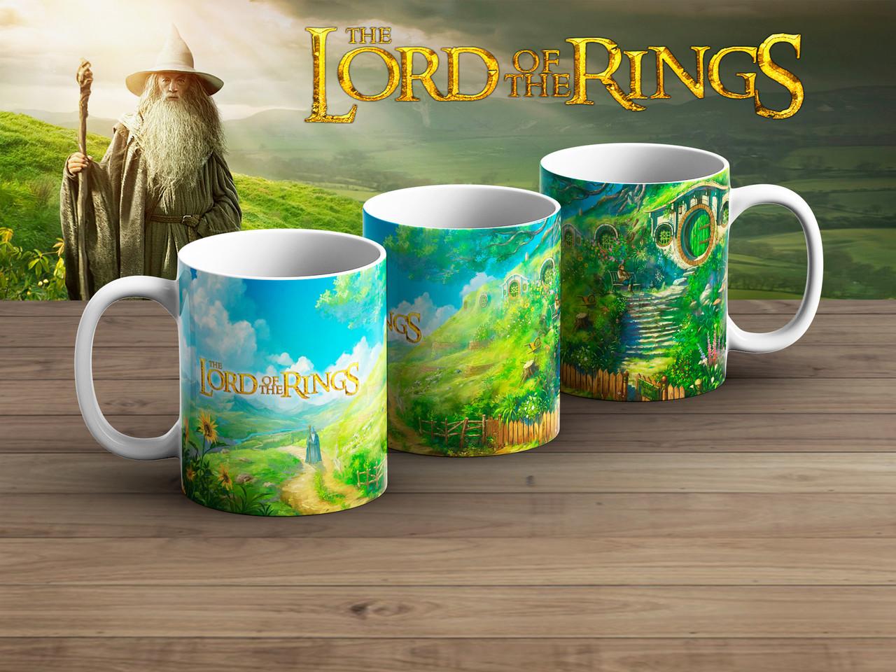 Чашка Властелин колец Шир / The Lord of the Rings