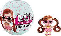 Кукла ЛОЛ со сменными париками LOL Surprise Hairvibes волосами 564751