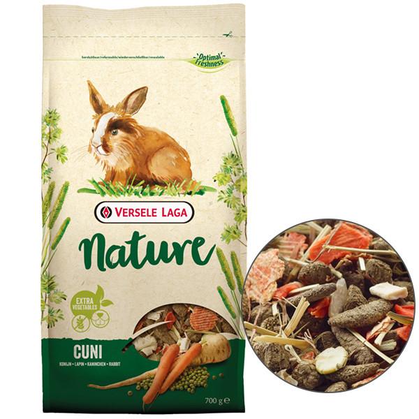 Корм для кроликов Versele-Laga Nature Сuni 700 г зерновая смесь супер премиум