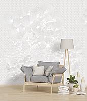 Рельефное дизайнерские панно 3D Pines structure w/o paint 250 см х 155 см