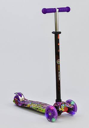 Детский самокат макси Best Scooter MAXI PRINT  Dream, фото 2