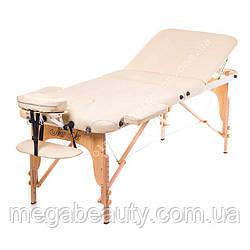 Трёхсекционный деревянный складной стол EST