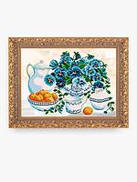 Схема для вышивки бисером Натюрморт абрикос