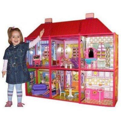 Будиночок для ляльок 6983 my lovely villa двох поверховий
