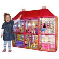 Домик для кукол 6983 my lovely villa двух этажный