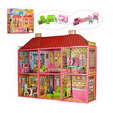 Будиночок для ляльок 6983 my lovely villa двох поверховий, фото 3