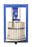 Пресс для сока 25л с домкратом, давление 5 тон, гидравлический. Для яблок, винограда, сыра и тд.