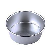Алюминиевая форма для выпечки 22 см со съемным дном