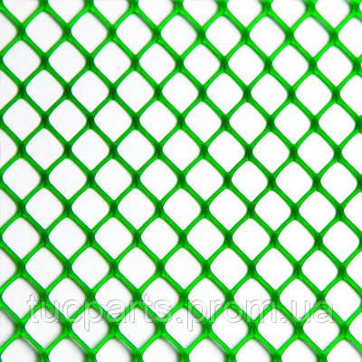 Сітка для огорожі споруди вольєрів для домашньої птиці темно зелена 125 см 60*60