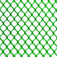 Сетка для ограждений сооружениявольеровдлядомашнейптицы темно зеленая 60*60 550 грн