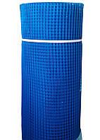 Сетка пластиковая для ограждений голубая 60*60 550 грн