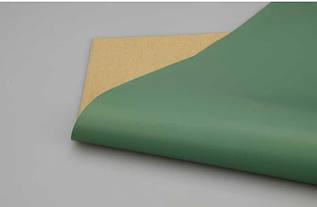 Пленка матовая двухсторонняя зеленая- крафт в листах 20 шт.
