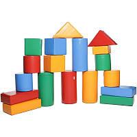 Дитячі ігрові м'які конструктори Будівельник 4