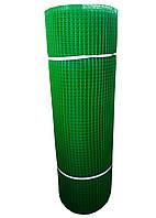 Сетка пластиковая для ограждений зеленая 30 м 15*15 690грн