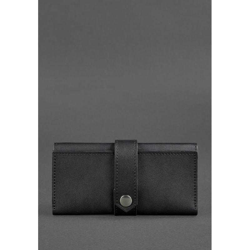 Кожаное портмоне 3.0 черное Krast