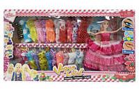 Кукла с набором платьев  scs